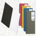 Lot de 10 Bloc-notes FOLDERMATE 120 pages A5 80g Coul assorties